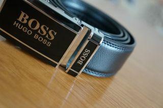 Herrengürtel,  Automatikgürtel Hugo Boss Gr.  120cm Bild