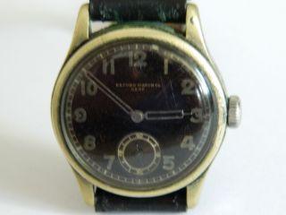 Record Watch Co Genf 2.  Weltkrieg Deutsches Heer Sammlerstück Bild