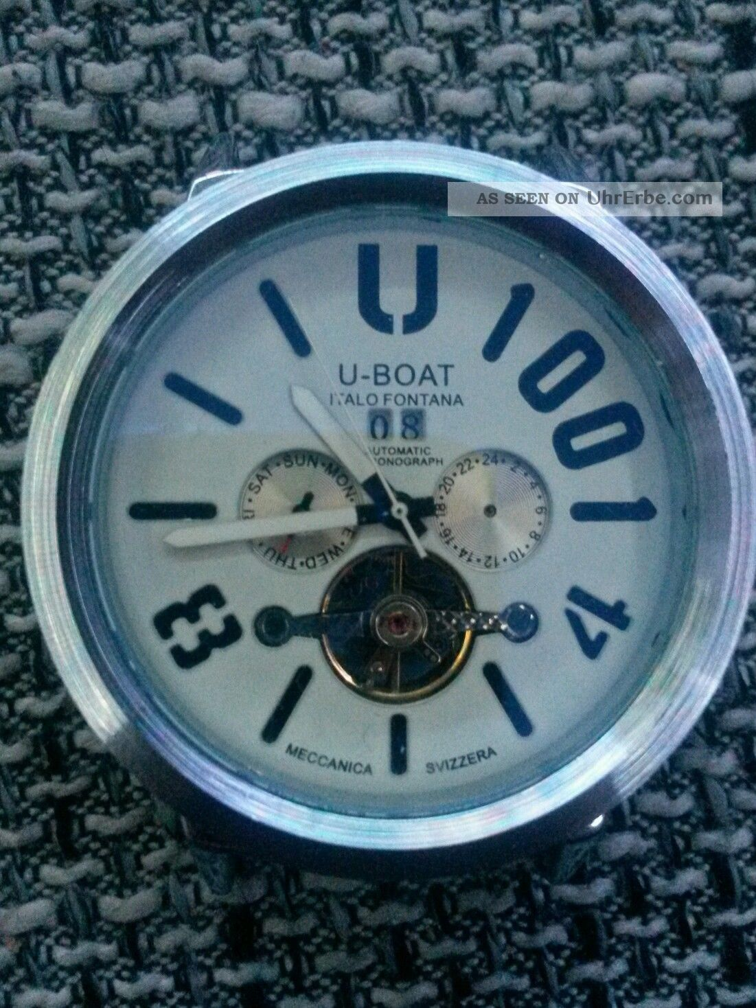 Uhr U - Boat 1001 - Spezial Edition - Edizione Speciale - U/28 - 013 Von 999 Armbanduhren Bild