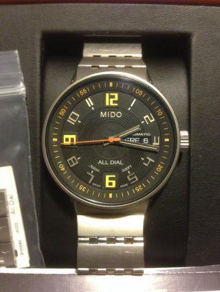 Mido M83408d81 Armbanduhr Für Herren Bild