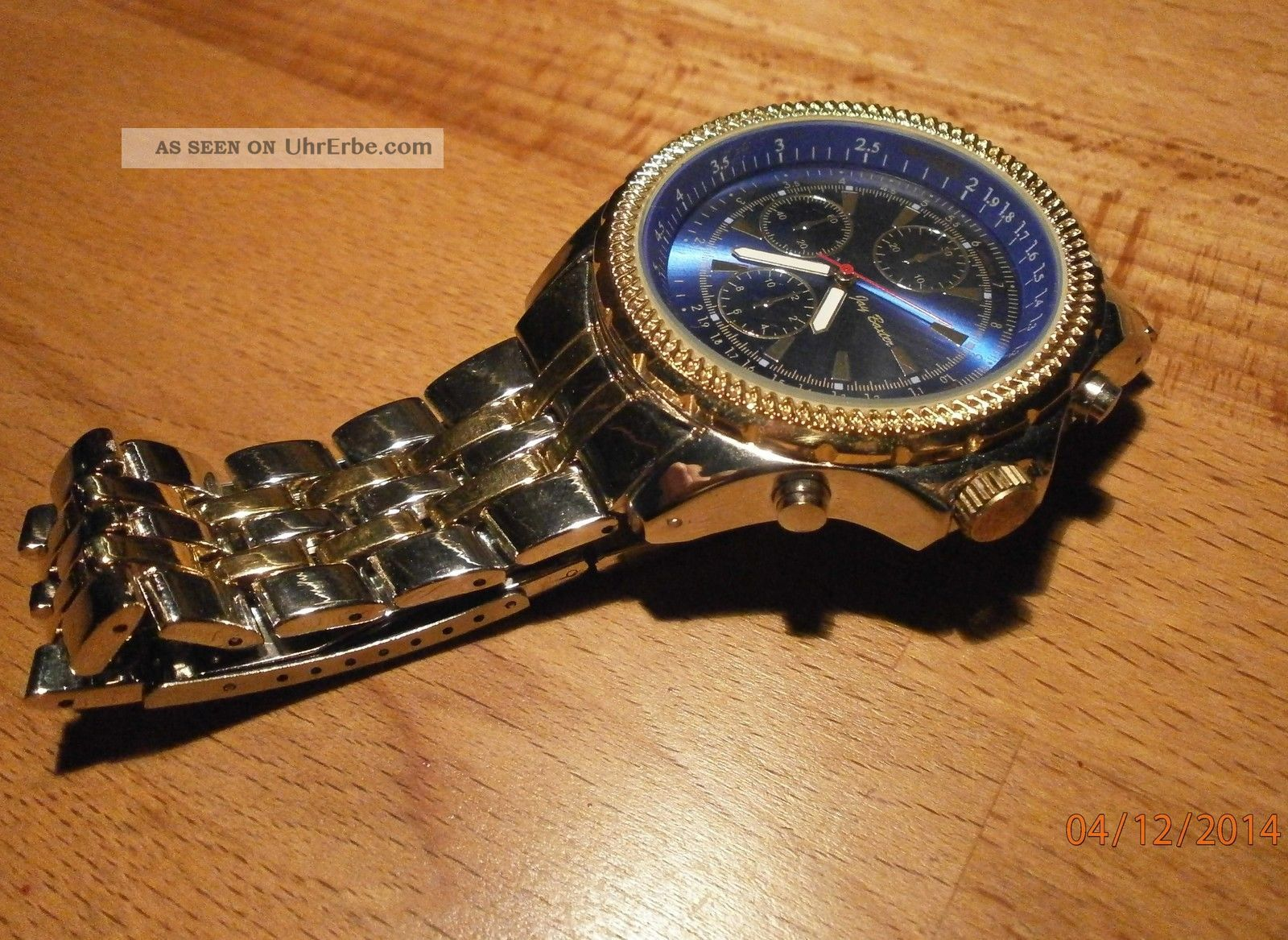 xxl jay baxter herrenuhr edelstahl armband metall silber. Black Bedroom Furniture Sets. Home Design Ideas