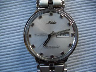 Mido Comander Chronometer Analog Swiss Made Bild