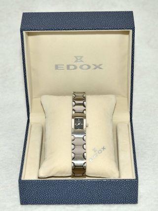 Damen Luxusuhr Der Marke Edox Bild