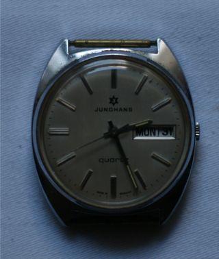 Junghans Quartz Herren Armbanduhr Bild