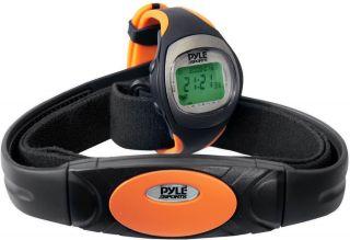 Pyle Sport Stoppuhr Wireless Sendegurt Alarm Herzfrequenz Kalorien Wasserfest Bild