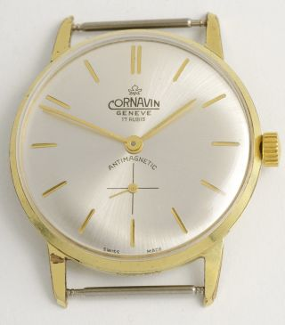 Cornavin Geneve Klassische,  Elegante Armbanduhr.  Swiss Made Vintage Dress Watch. Bild