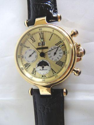 Glasboden Automatik Herren Armbanduhr Von Windgassen,  Unbenutzt Bild