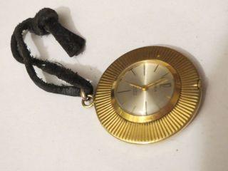 Bildschöne Kleine Para Umhänge Uhr Mit Handaufzugswerk Tolles Rares Sammlerstück Bild