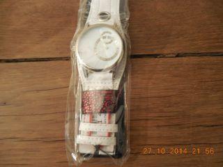 Charles Delon Ausgefallene Armbanduhr,  Weiß, Bild