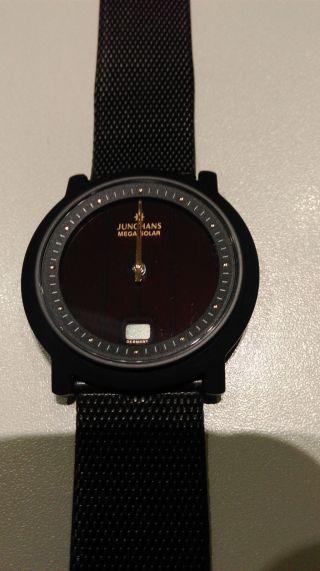 Junghans Armbanduhr Mega Solar Ceramic Modell 018/1721 Bild