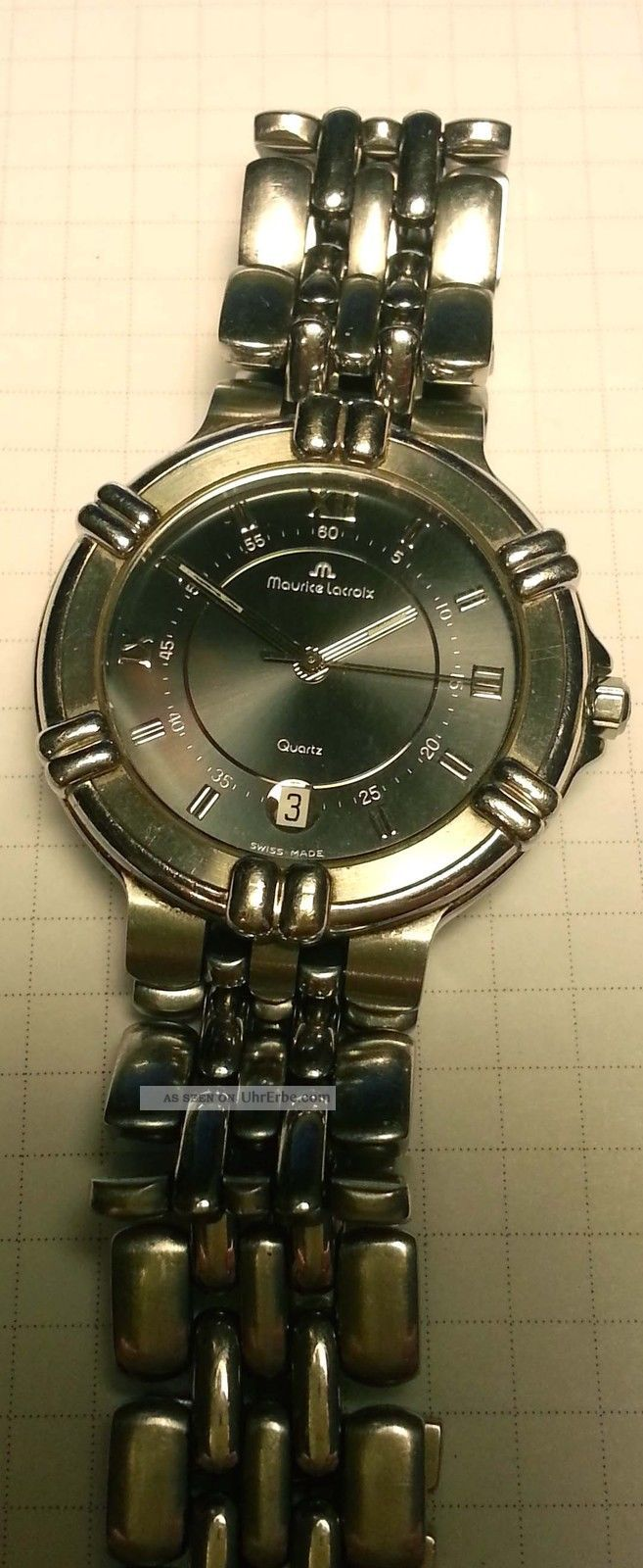 Maurice Lacroix Calypso Edelstahl Mit Edelstahlband Armbanduhren Bild