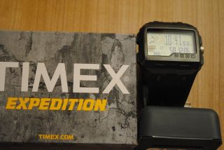 Timex Expedition Militar Herrenuhr Ws4 T49664 Höhenmesser Luftdruck Kompass Bild