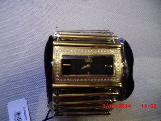 Extravagante Armbanduhr Von D&g Bzw.  Dolce & Gabbana Damen Goldfarbend Bild