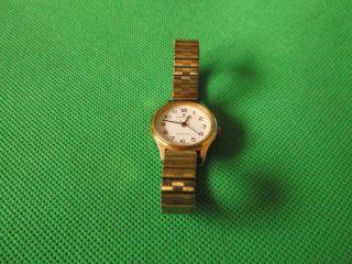 Damenuhr,  Uhr Von Junghans,  Analog Mit Zugband,  Goldfarben Bild