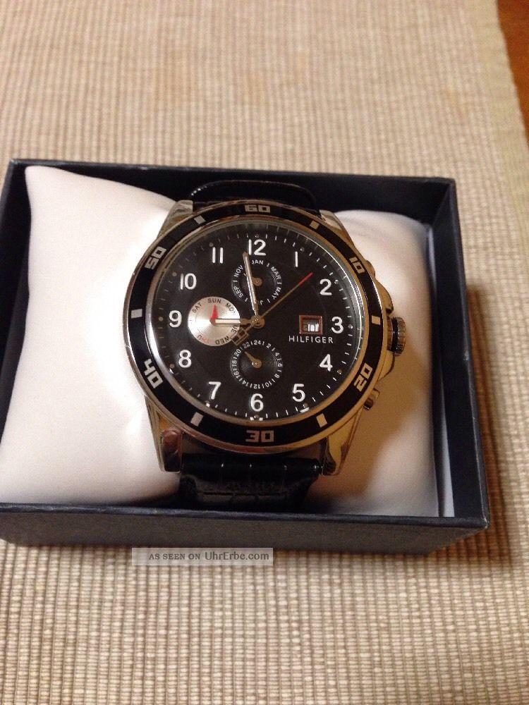 Tommy Hilfiger Herrenuhr Chronograph Tommy Hilfiger Watch 1790740 Uvp 179€ Armbanduhren Bild