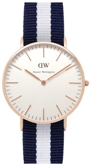 Daniel Wellington Glasgow Rose Gold Damen Uhr 0503dw Bild