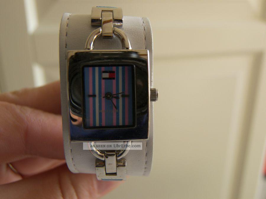 tommy hilfiger armbanduhr uhr damen armbanduhren bild 3. Black Bedroom Furniture Sets. Home Design Ideas