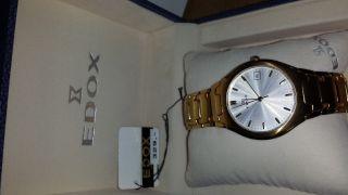 Edox Armbanduhr Für Herren Bild
