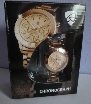 Auriol Chronograph – Damen Armbanduhr Bild