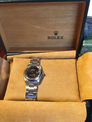 Rolex Oyster Perpetual Datejust Armbanduhr Für Damen Bild