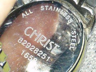 Christ Damenuhr Mit Swarovski - Steinen Bild