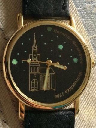 Scs International Armbanduhr Hannover Uhr Sammleruhr Marktkirche Weihnachten 96 Bild