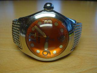 Corum Bubble Ref.  16315020 - Seltenes Stahlband - Box - 45 Mm Bild