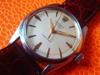 Schöne Rolex Ref.  6420 Speedking Men´s Watch Bild