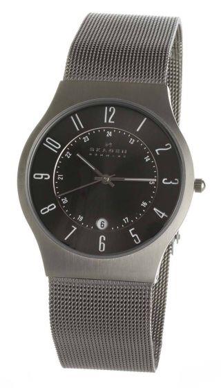 Herren Uhr Skagen Denmark 233xlttm - Armbanduhr Bild