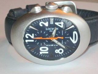 Locman Chronograph Mit Aluminium Gehäuse Bild