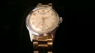 Junghans Trilastic 16 Jewels Armbanduhr Herren Bild