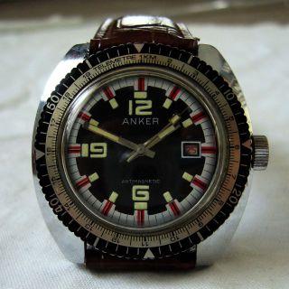 Anker Herren Armbanduhr Mechanisch Aus Dem 60 Er Jahre Bild