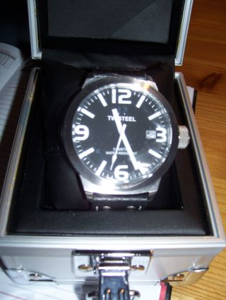 Herren Armbanduhr Uhr Tw Steel Lotus Renault Gp Chrono Edelstahl Bild