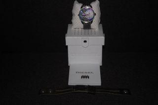 Diesel Armband Uhr Herren Limited Edition,  Armband Leder = Neupreis Ges.  340€ Bild