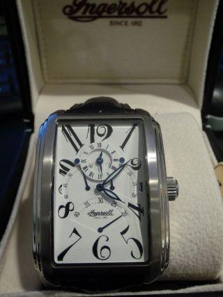 Ingersoll Missouri In2602wh Gmt Automatik Uhr 2 Zeitzonen Uhr Damen Bild