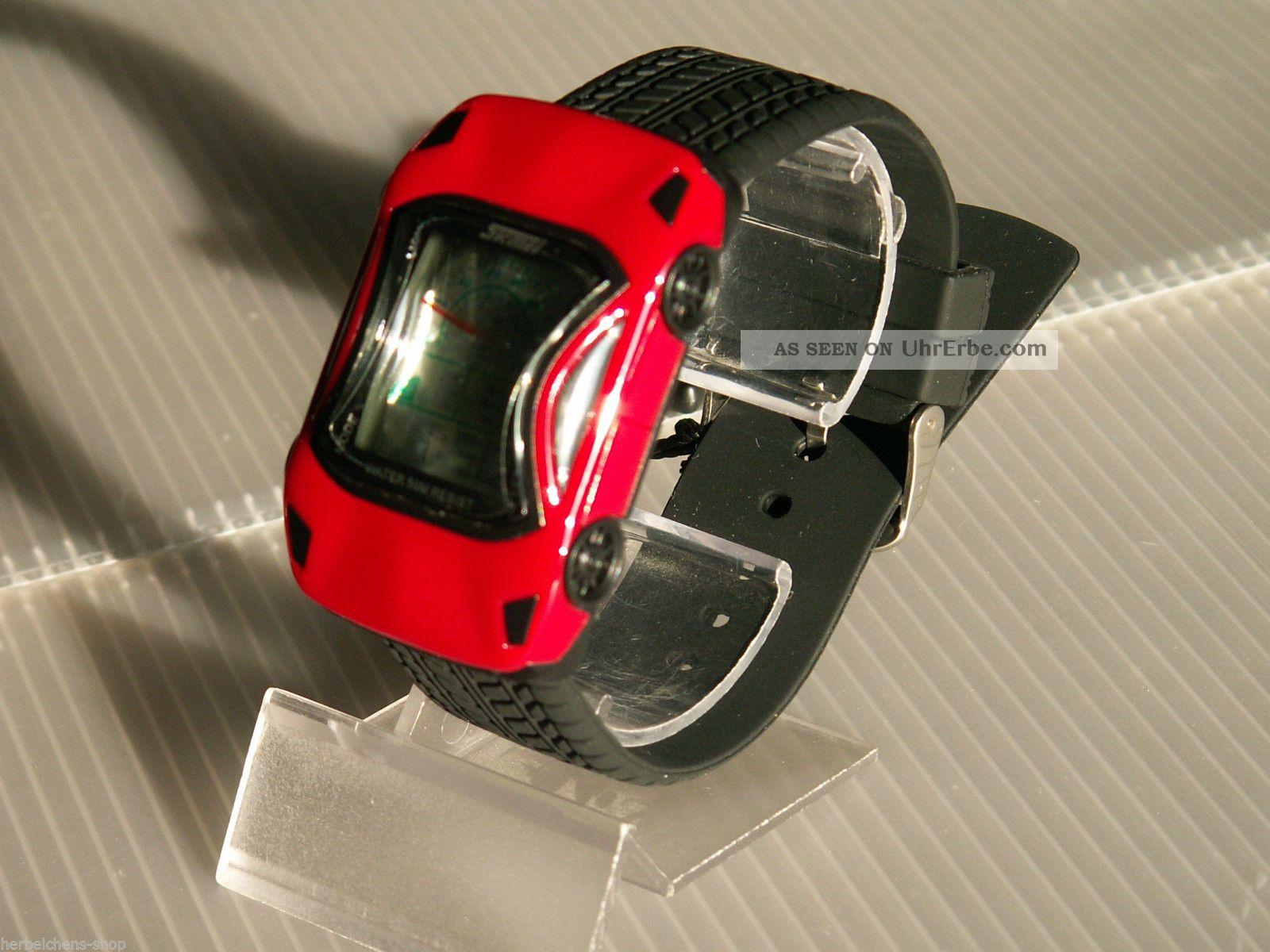auto armband uhr lcd digital alarm stoppuhr quarz sport. Black Bedroom Furniture Sets. Home Design Ideas