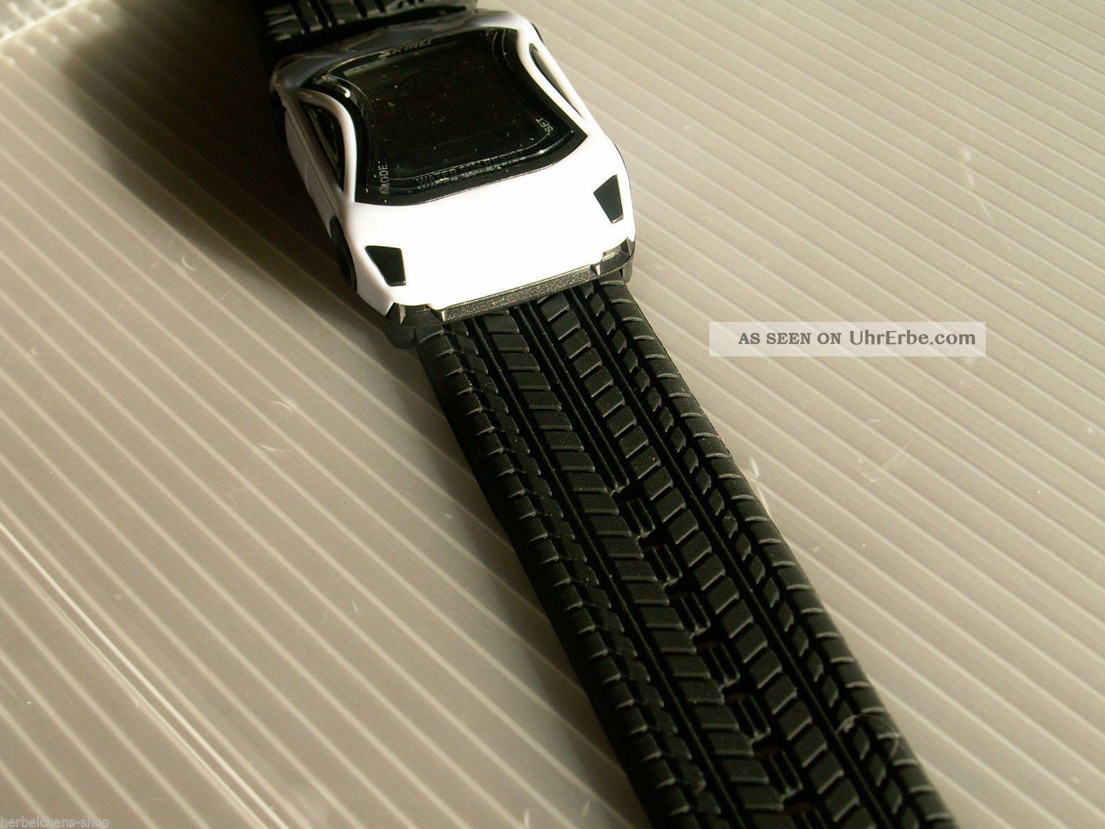 auto armband lcd digital alarm stoppuhr quarz sport uhr mit led beleuchtung. Black Bedroom Furniture Sets. Home Design Ideas