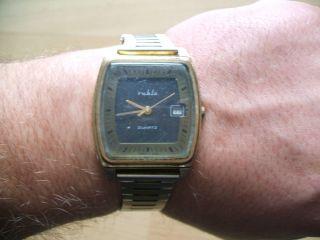Uhrsammlung Alte Ruhla Quartz Herrenuhr,  Armbanduhr,  Sammleruhr Quartz Uhrwerk Bild