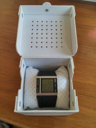 Diesel Uhr Dz - 7142 - Digital,  Schwarz,  Lederarmband - Top Inkl.  Uhrenbox Bild
