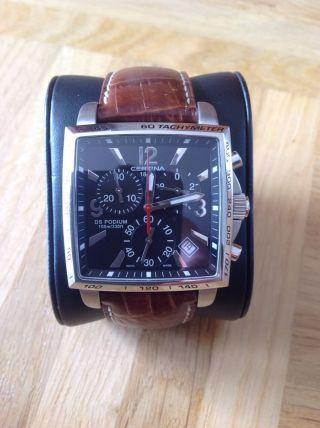 Certina Ds Podium Square Modell C001517a Herrenchronograph Armbanduhr Top Bild