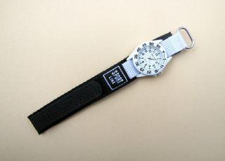 Kinderuhr Armbanduhr Youngster Quarz Weiss Klettband Bild