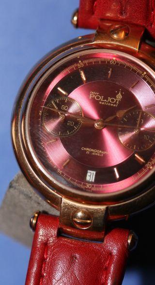 Originale Poljot,  P3133,  Herrenuhr,  Sammleruhr,  Handaufzug Bild