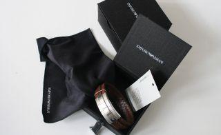 Emporio Armani Herrenarmband Leder Braun Egs1535040 Bild