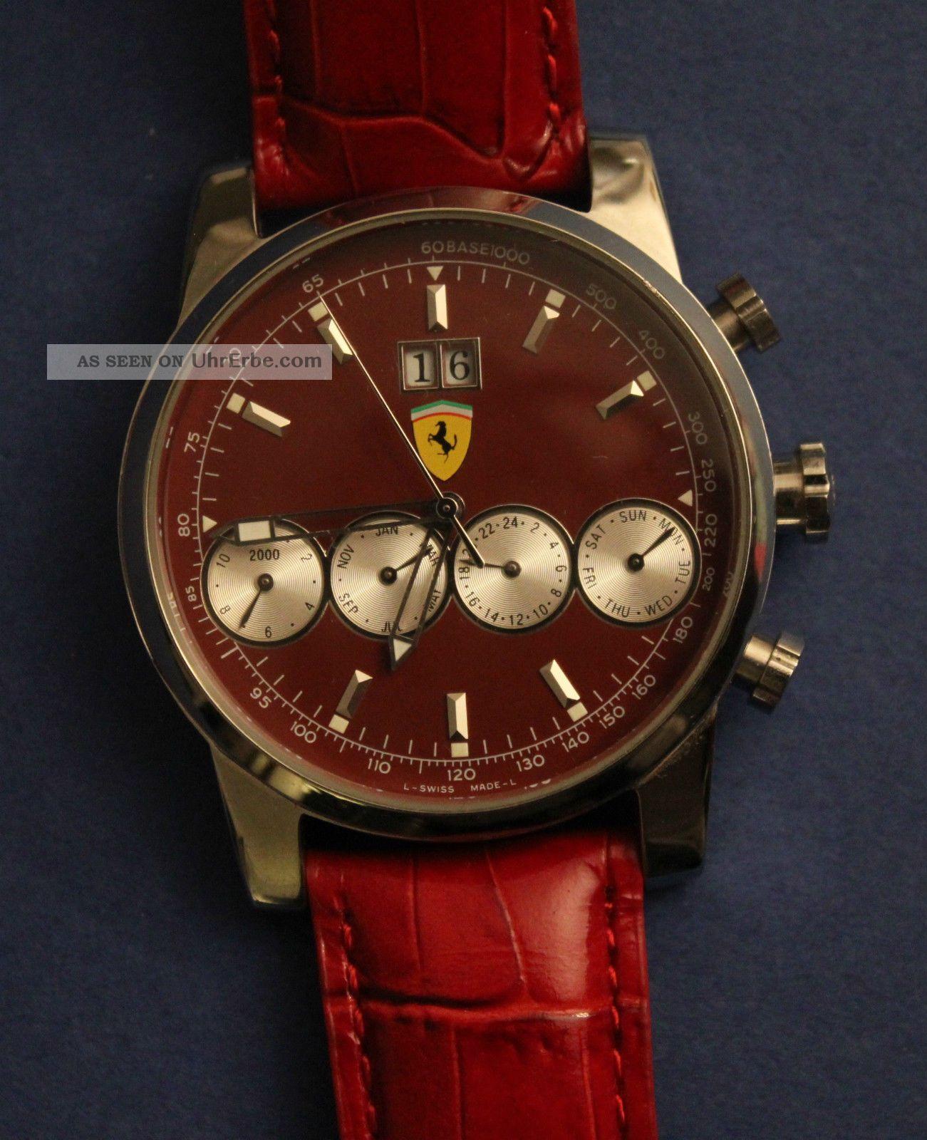 Originale Ferrari,  Herrenuhr,  Sammleruhr,  Automatik Armbanduhren Bild