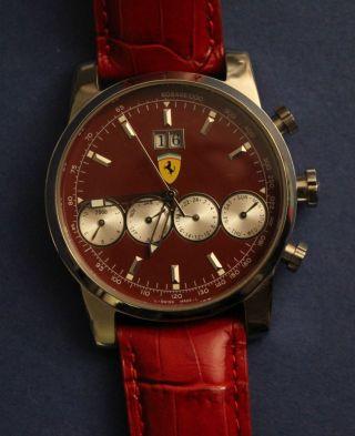 Originale Ferrari,  Herrenuhr,  Sammleruhr,  Automatik Bild