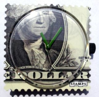 S.  T.  A.  M.  P.  S - Uhr - One Dollar Bild