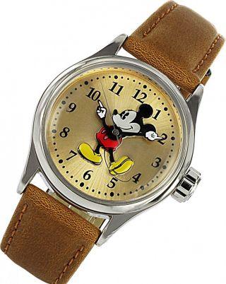 Disney Mickey Mouse Zr 25640 Quartz Kinderuhr Bild