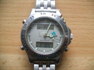 Defekte Uhrsammlung Alte Adidas Equipment Chronograph Herrenuhr An Bastler Bild