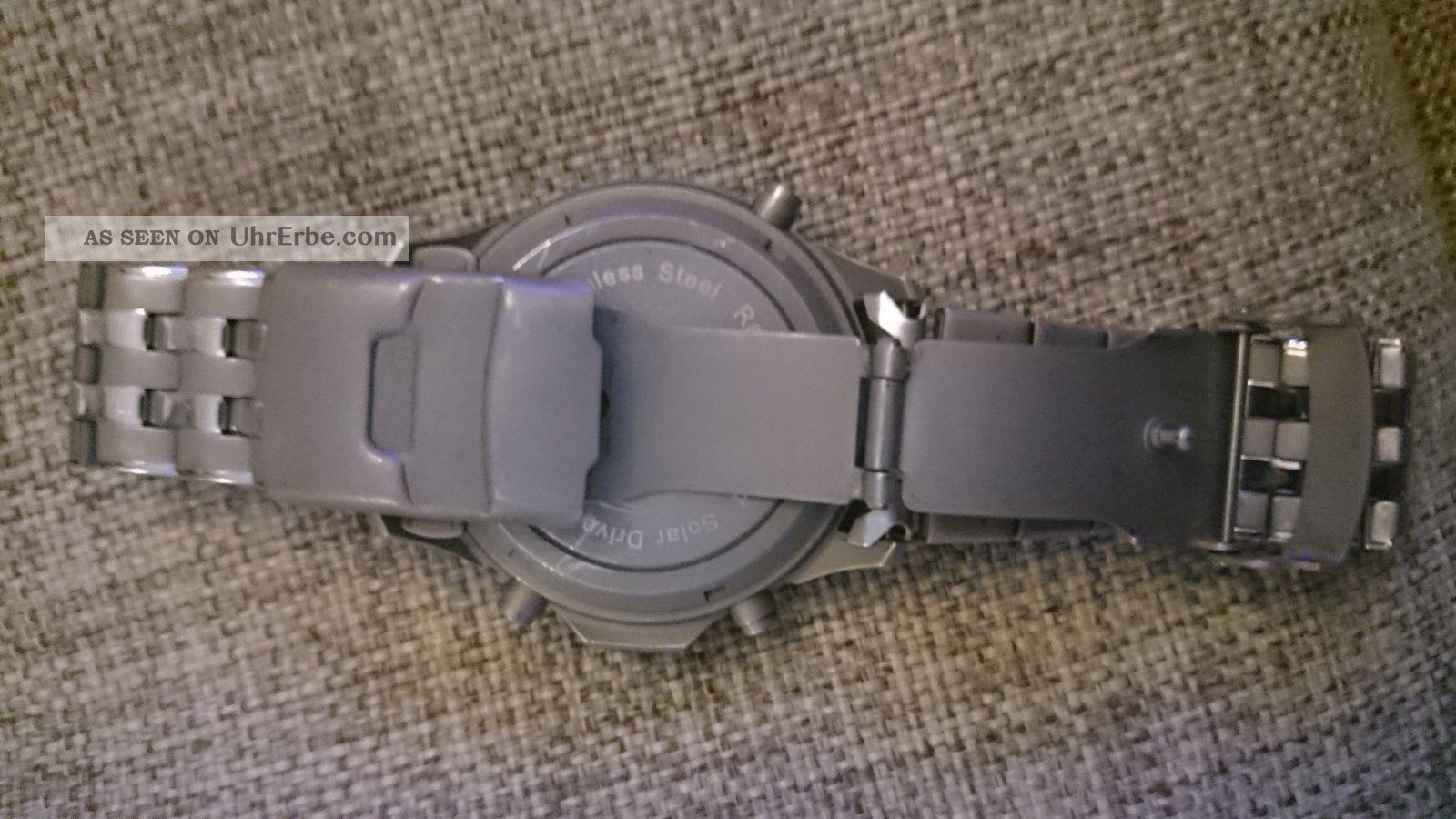 armbanduhren herren funk mit silikonband