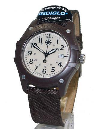 Timex Herrenuhr T49691 Analog Camper Expedition Mit Textilarmband,  Datumsanzeige Bild